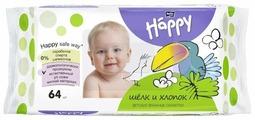 Влажные салфетки Bella Baby happy Silk&Cotton