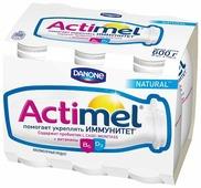 Кисломолочный напиток Actimel натуральный 2.6%, 6 шт.