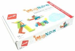 Магнитный конструктор Pengo Magnetic Blocks P00314 Imagination