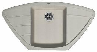 Врезная кухонная мойка FLORENTINA Липси-980С 98х51см искусственный гранит