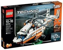 Электромеханический конструктор LEGO Technic 42052 Грузовой вертолет