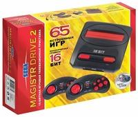 Игровая приставка SEGA Genesis Magistr Drive 2 (65 игр)