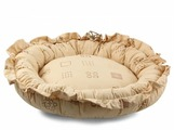 Лежак для кошек, для собак Гамма Ассоль 50х50х18 см