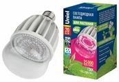 Лампа светодиодная для растений Uniel ALS55WH, E27, 20Вт