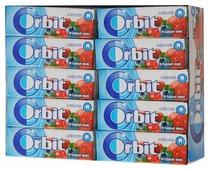 Жевательная резинка Orbit Ягодный микс, без сахара, 30 шт. по 13,6 г