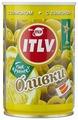 ITLV Оливки зеленые с лимоном в рассоле, жестяная банка 300 г