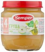 Пюре Semper груша (с 4 месяцев) 125 г, 1 шт