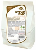 Рис Образ Жизни бурый 1.5 кг