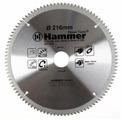 Пильный диск Hammer Flex 205-302 CSB AL 216х30 мм