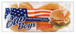 BUN BOYS Булочки для гамбургеров Макси пшеничные с кунжутом 300 г