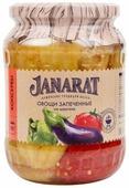 Овощи запеченные на мангале Janarat стеклянная банка 700 г