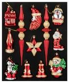 Набор елочных игрушек Lefard 858-034