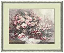 Золотое Руно Набор для вышивания Розовый Прованс 30,7 х 39,6 см (СЖ-038)