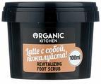 Organic Shop Скраб для ног Organic kitchen Latte с собой, пожалуйста