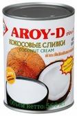 Aroy-D Сливки кокосовые 70%, 560 мл