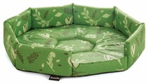 Лежак для кошек, для собак Гамма Окта медиум 50х50х10 см