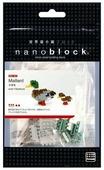 Конструктор Nanoblock Miniature NBC-061 Дикая утка