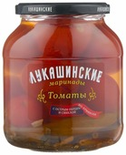 Томаты с острым перцем и свеклой по-армянски ЛУКАШИНСКИЕ стеклянная банка 670 г