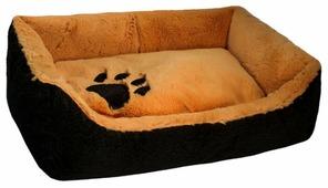 Лежак для собак Zoo-M Tiger (9811) 57х41х17 см