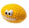 Мячик для собак ZooOne L-436 Регби с глазами 9,5 см