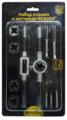 Набор метчиков и плашек BERGER BG12TDS набор плашек и метчиков 12предметов