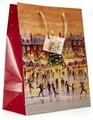 Пакет подарочный УРРА Новый год 26х32х13 см