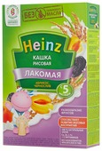 Каша Heinz молочная Лакомая рисовая с абрикосом и черносливом (с 5 месяцев) 200 г