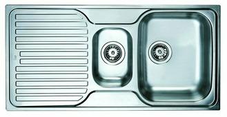 Врезная кухонная мойка TEKA Princess 1 1/2B 1D 100х50см нержавеющая сталь