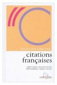 "Carlier Robert ""Dictionnaire des citations francaises"""