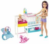 Кукла Barbie Скиппер и малыши, GFL38