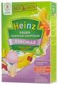 Каша Heinz молочная Лакомая пшенично-кукурузная с персиком, бананом, вишенкой (с 6 месяцев) 200 г