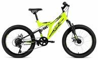 Подростковый горный (MTB) велосипед ALTAIR MTB FS 20 Disc (2019)