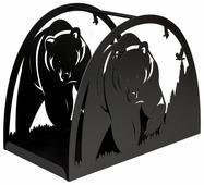 Дровница Silver Smith Bear