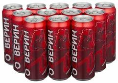 Энергетический напиток ОZВЕРИН красный пунш