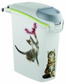 Контейнер для корма CURVER Сладкие котята 15 л