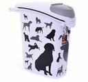 Контейнер для корма CURVER Собаки 23 л 23 л