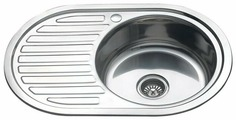 Врезная кухонная мойка MELANA MLN-7750 77х50см нержавеющая сталь