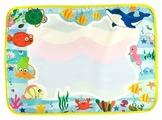 BONDIBON Водная раскраска коврик для рисования водой