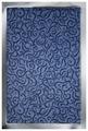 Придверный коврик Vebe Грязезащитный Brasil 30 синий