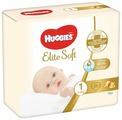 Huggies подгузники Elite Soft 1 (3-5 кг) 25 шт.