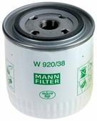 Масляный фильтр MANNFILTER W920/38