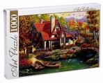Пазл ART PUZZLE Красивый дом у пруда (ХАП1000-4446), 1000 дет.