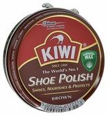 Kiwi Shoe Polish крем в банке коричневый