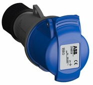 Розетка силовая (CEE) кабельная переносная ABB 2CMA102003R1000