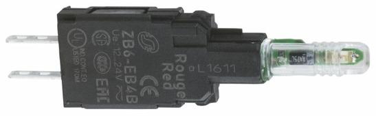 Светосигнальный блок с ламподержателем для устройств управления и сигнализации Schneider Electric ZB6EB8B