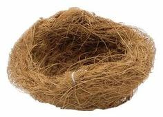 Гнездо Beeztees кокос 10х10х3см 3 шт.