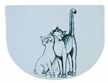 Коврик для мисок TRIXIE 24540 Кошечка