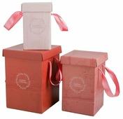 """Набор подарочных коробок Дарите счастье """"Дарите счастье"""" 3 шт."""