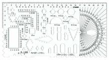 СТАММ Линейка офицерская гибкая №2 курсантская 22 см (ТТ04)