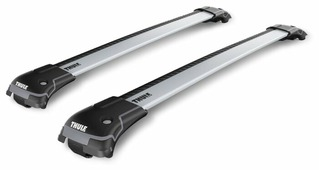 THULE 9583 WingBar Edge Raised Rail Large (багажник на крышу автомобиля с рейлингами, 2x110 см)